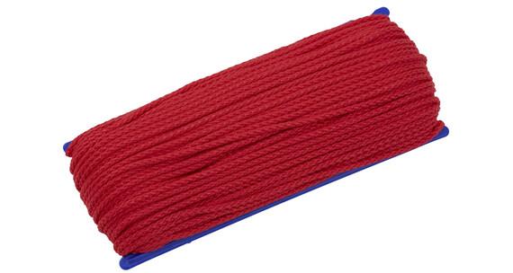 CAMPZ Cuerda universal - Accesorios para tienda de campaña - 50m 3mm rojo